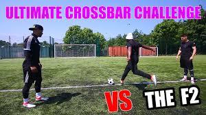 Challenge Comedyshortsgamer Comedyshortsgamer Vs F2freestylers Ultimate Crossbar Challenge