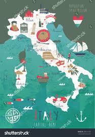 Milan Italy Map Italy Map Print Design Stock Vector 296741168 Shutterstock