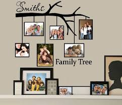 family tree wall decal michaels color the walls of your house family tree wall decal michaels family tree with picture frames custom name wall