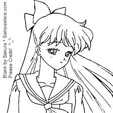 sailor astera coloring book