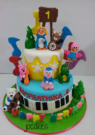 pocoyo cake toppers pocoyo and friends cake jocakes