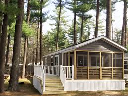 Cabin Plans With Porch Cottages Lake Rudolph Campground U0026 Rv Resort