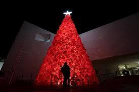 Christmas Tree Made Of Christmas Lights - unusual christmas trees euronews