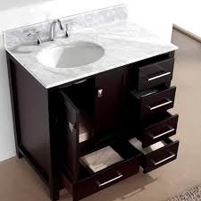 Virtu Bathroom Accessories by Virtu Usa Caroline Avenue 36 Single Bathroom Vanity Set In