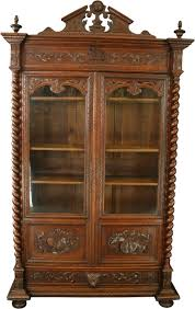 antique display cabinets with glass doors wonderful antique display cabinets with glass doors 7 images styles