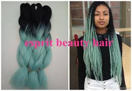 wholesale sale mint green ombre box braiding hairstyles