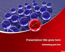 3d spheres leadership powerpoint template powerpoint templates