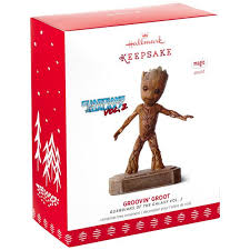 guardians of the galaxy vol 2 groovin groot musical ornament