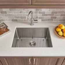 pekoe undermount 23x18 single bowl kitchen sink