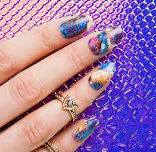 awe nail wraps by thumbsup designer nail wraps