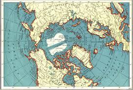 Alaska Highway Map by The North Polar Region Map