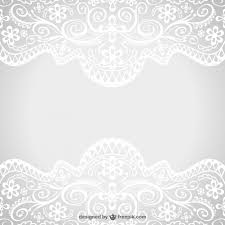 floral lace ornaments vector free