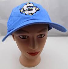 seton hat seton prep hat blue stitched adjustable baseball cap pre