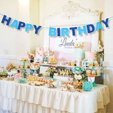 happy birthday banner garland photo props bunting garland wedding
