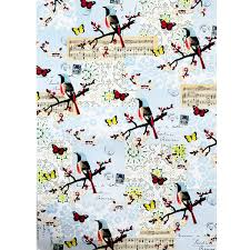 cavallini wrap cavallini co decorative wrap flora fauna bird stington