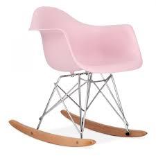 Little Kids Rocking Chairs Eames Inspired Pastel Pink Kids Rar Rocker Chair Cult Furniture