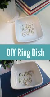 classic dish ring holder images Cricut ring dish project and cricut october sales crafting fun jpg