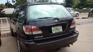 toyota lexus rx300 lagos cleared lovely 2001 lexus rx300 tokunbo 100 accident free