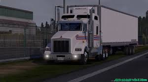 kenwood t800 kenworth t680 render model from american truck simulator