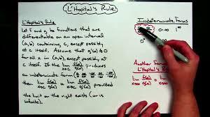 using l u0027hopital u0027s rule calculus lesson ideas pinterest
