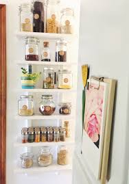 an organized pantry going home to roost