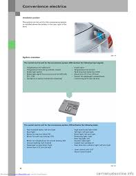 audi a6 2005 c5 2 g electrics system training manual