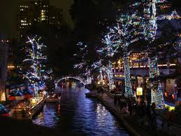 downtown san antonio christmas lights the river walk in downtown san antonio texas is beautifully