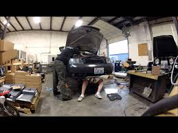 audi allroad transmission removal time lapse youtube