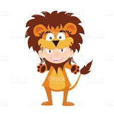 Baby Lion Costume Illustration Of Baby In A Lion Fancy Dress Costume Vector Stock