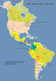 Map Equator South America by South America Pan American Highway