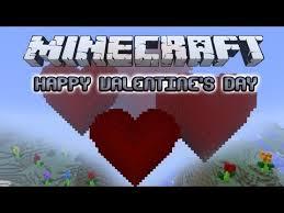 minecraft valentines happy s day minecraft project
