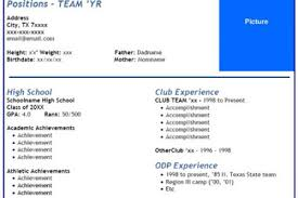 Basketball Resume Examples by Soccer Athlete Resume Examples Reentrycorps