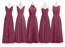 bridesmaid dress mismatched bridesmaid dresses bridesmaid gown mulberry