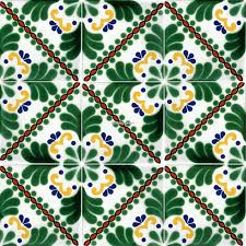 mexican talavera frost proof tile u0027soto u0027 terra artesana