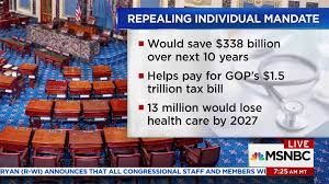Help Paying Light Bill Gop To Add Obamacare Mandate Into Tax Plan Msnbc