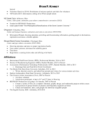 Resume With Volunteer Volunteer Resume Volunteer Resume Template On Proposal With