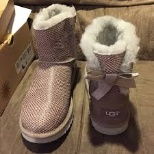 ugg mini bailey bow on sale 7 ugg shoes ugg mini bailey bow shiny reptile from mik s