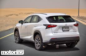 lexus nx suv video 2015 lexus nx 200t video reviewmotoring middle east car news