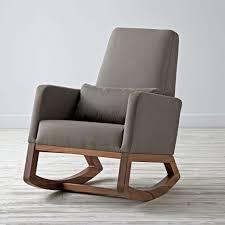 Gray Rocking Chair Joya Rocker Grey Rocking Chair The Land Of Nod