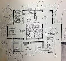 home plans with courtyards astounding enclosed courtyard house plans contemporary best