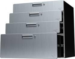 24 Drawer Storage Cabinet by Hercke Quadro Storage Drawer Cabinet 30