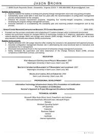 Itil Certified Resume Information Technician Cover Letter
