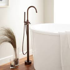 nerin gooseneck freestanding tub faucet tub faucets bathroom