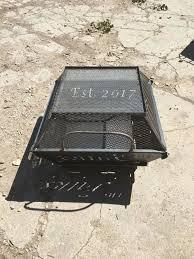 fire pit topper custom fire pits u0026 rings liberty machine u0026 custom fabrication