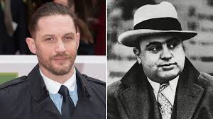 Al Capone Tattoos Tom Hardy Gives Look As Al Capone In Fonzo Variety
