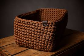 basket home decor crochet basket storage basket home storage home decor