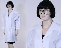 Halloween Lab Coat Costume Womens Lab Coat Etsy