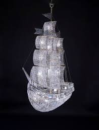 Glamorous Chandeliers Austrian Crystal Chandelier With 18 Carat Gold Fittings The Art