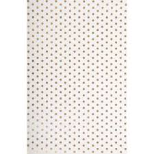 gold polka dot tissue paper gold foil dots wrapping paper paper source