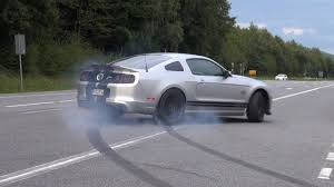 shelby mustang 500 662hp ford shelby mustang gt500 svt burnout fail